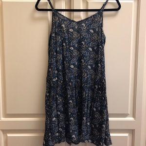 Printed floral sun dress!